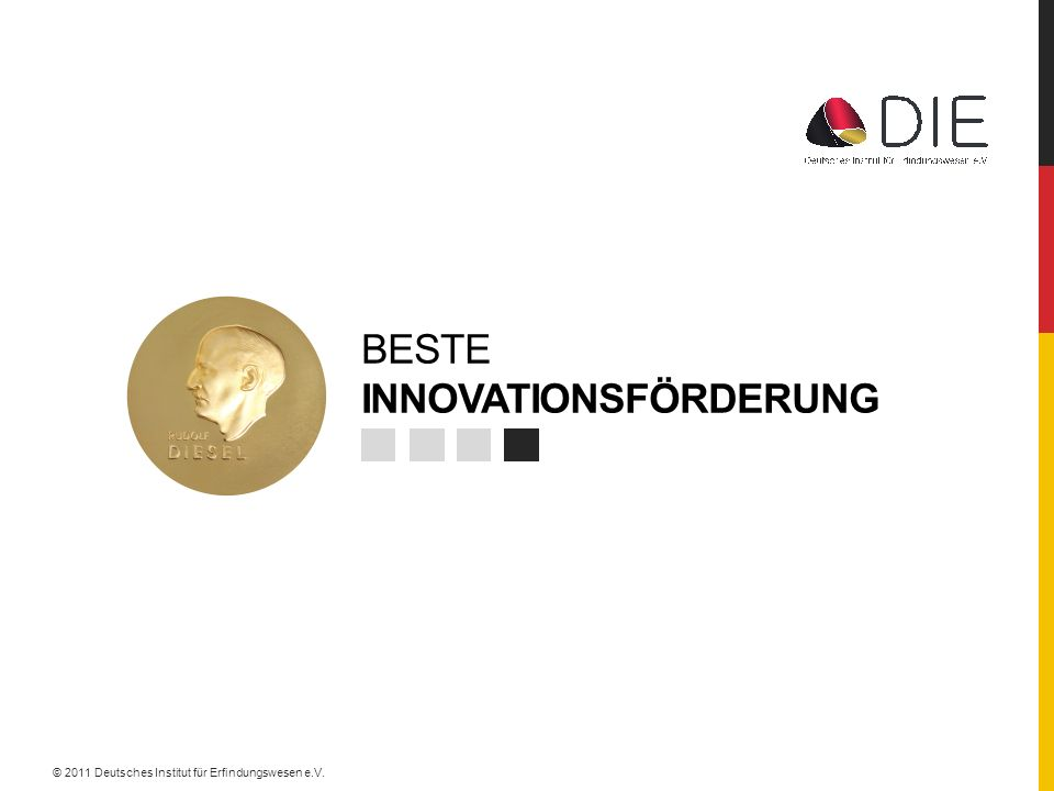 BESTE INNOVATIONSFÖRDERUNG