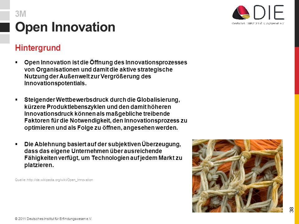 Open Innovation 3M Hintergrund