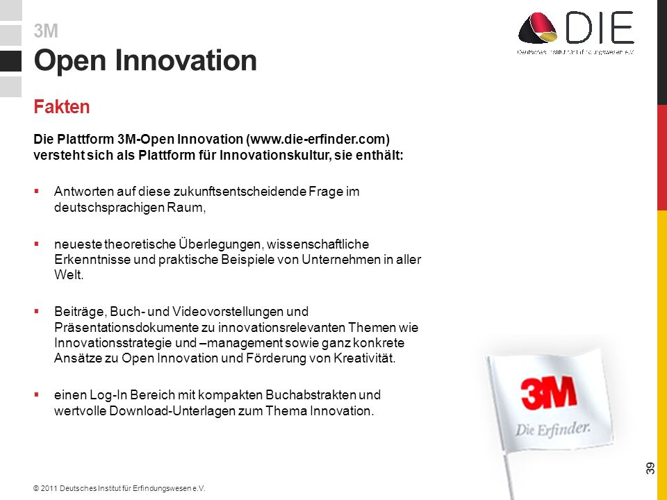 Open Innovation 3M Fakten