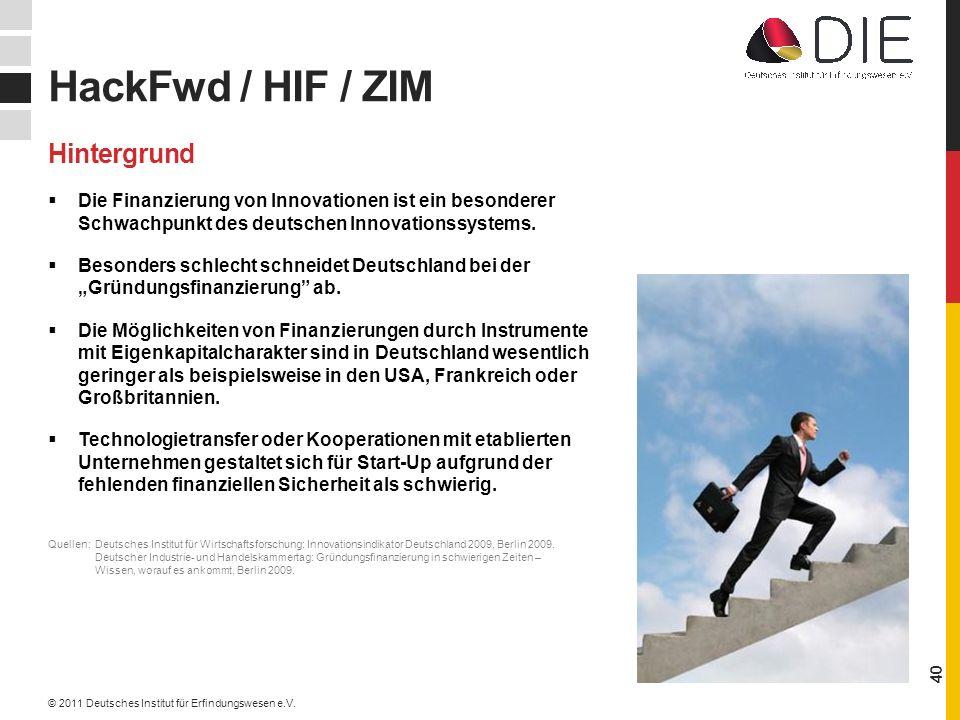 HackFwd / HIF / ZIM Hintergrund