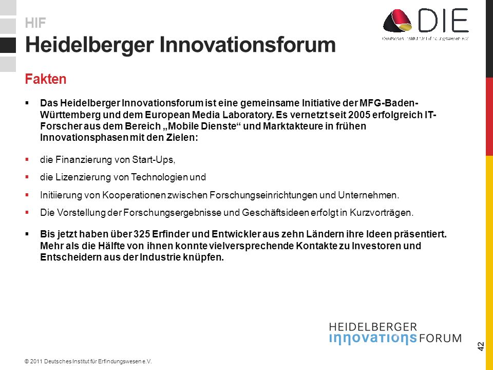 Heidelberger Innovationsforum