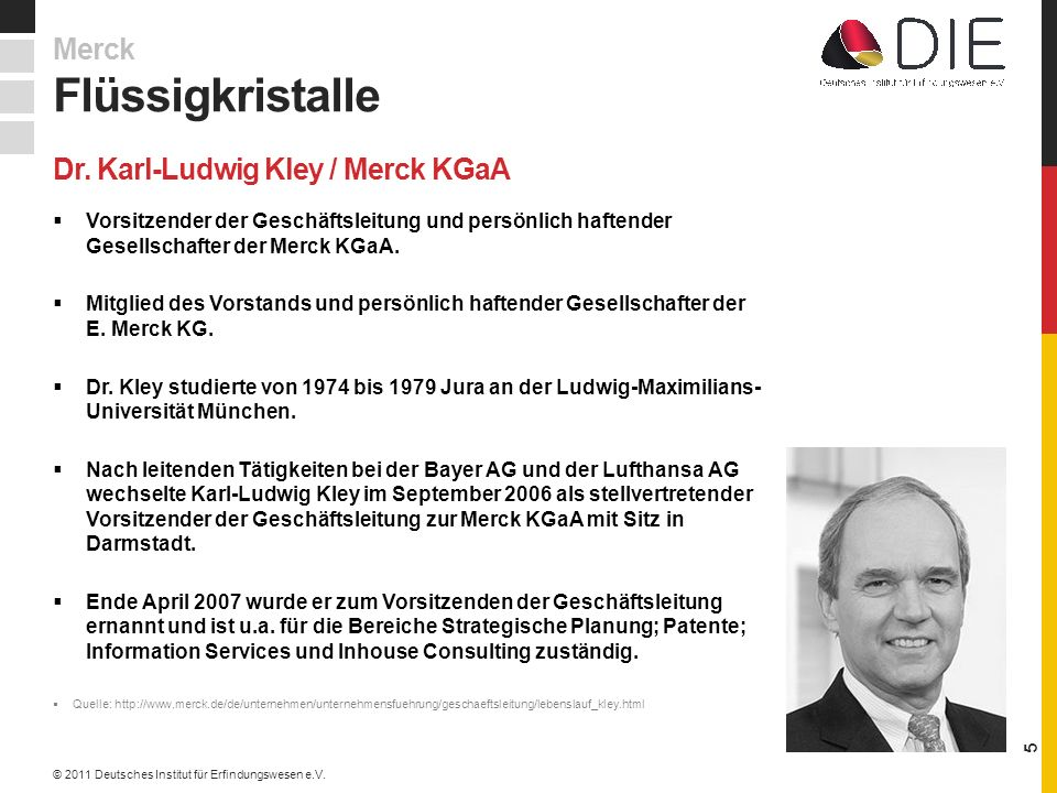 Dr. Karl-Ludwig Kley / Merck KGaA