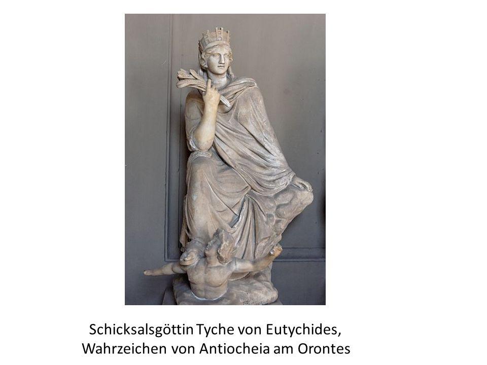 Schicksalsgöttin Tyche von Eutychides,
