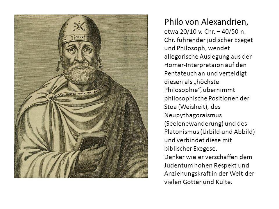 Philo von Alexandrien,