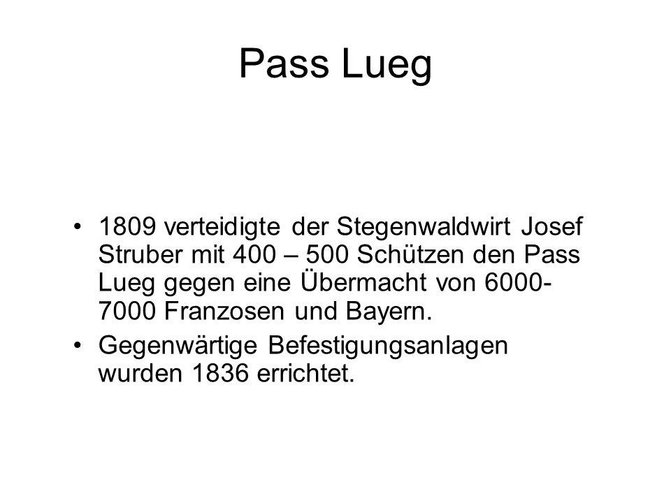 Pass Lueg