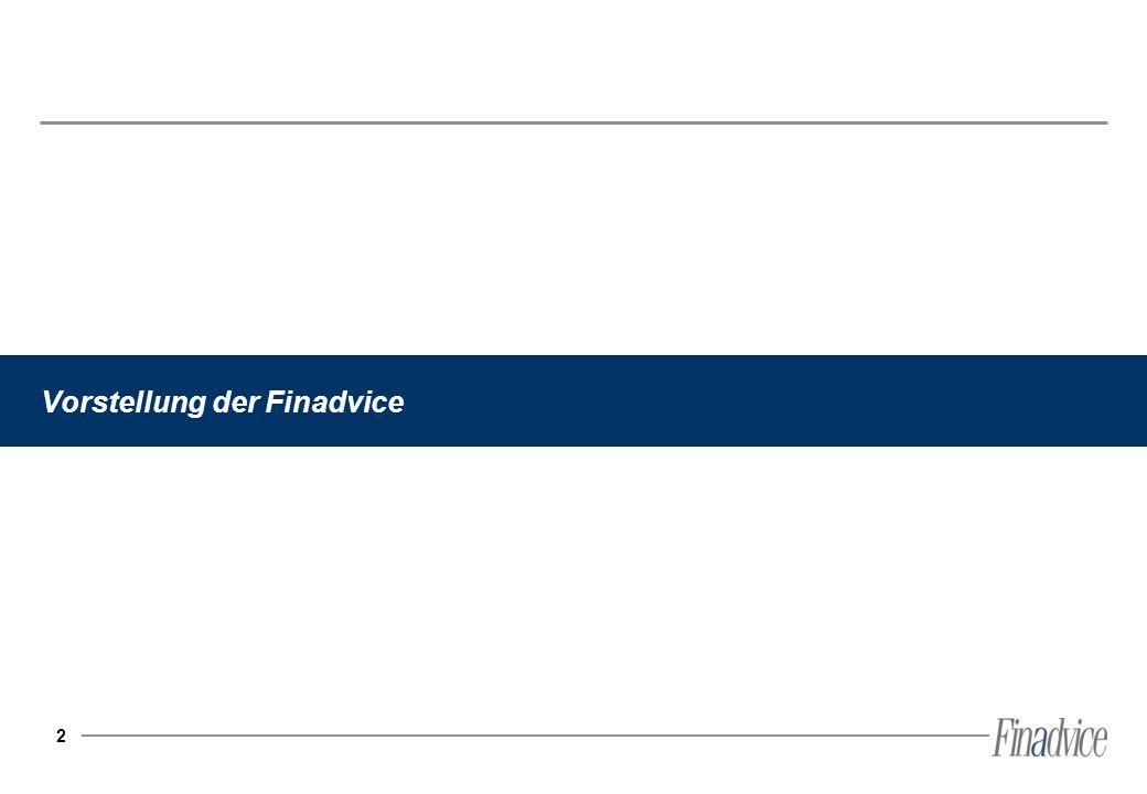 Vorstellung der Finadvice