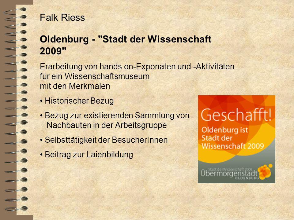 Oldenburg - Stadt der Wissenschaft 2009
