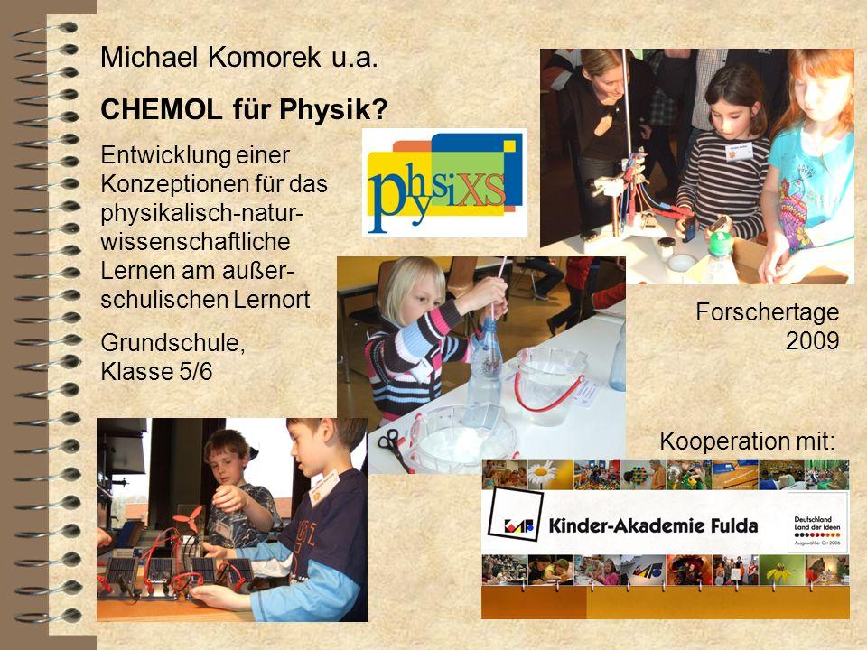 Michael Komorek u.a. CHEMOL für Physik