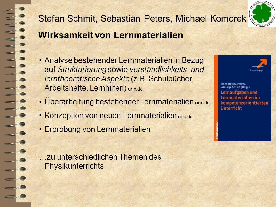 Stefan Schmit, Sebastian Peters, Michael Komorek