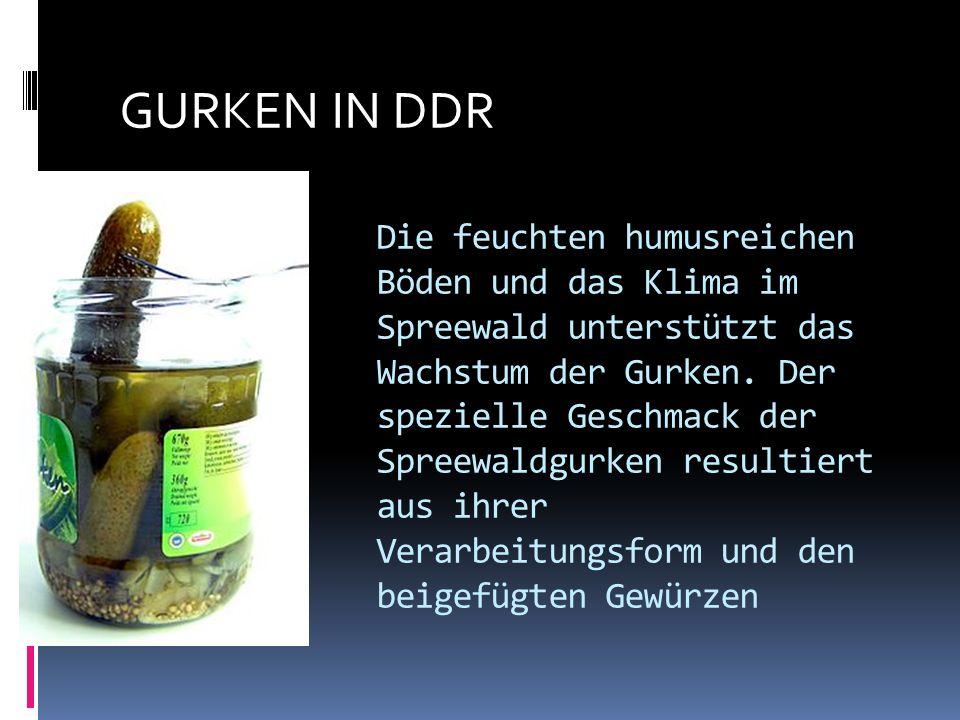 GURKEN IN DDR