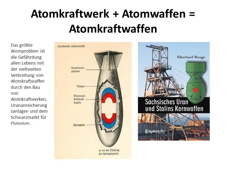 Atomkraftwerk + Atomwaffen = Atomkraftwaffen