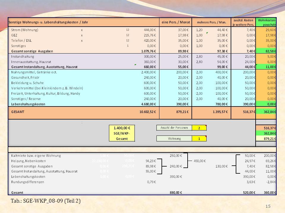 Tab.: SGE-WKP_08-09 (Teil 2)