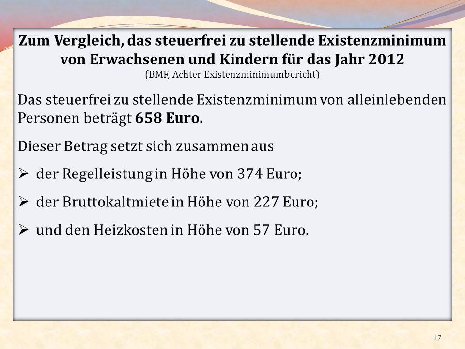 (BMF, Achter Existenzminimumbericht)
