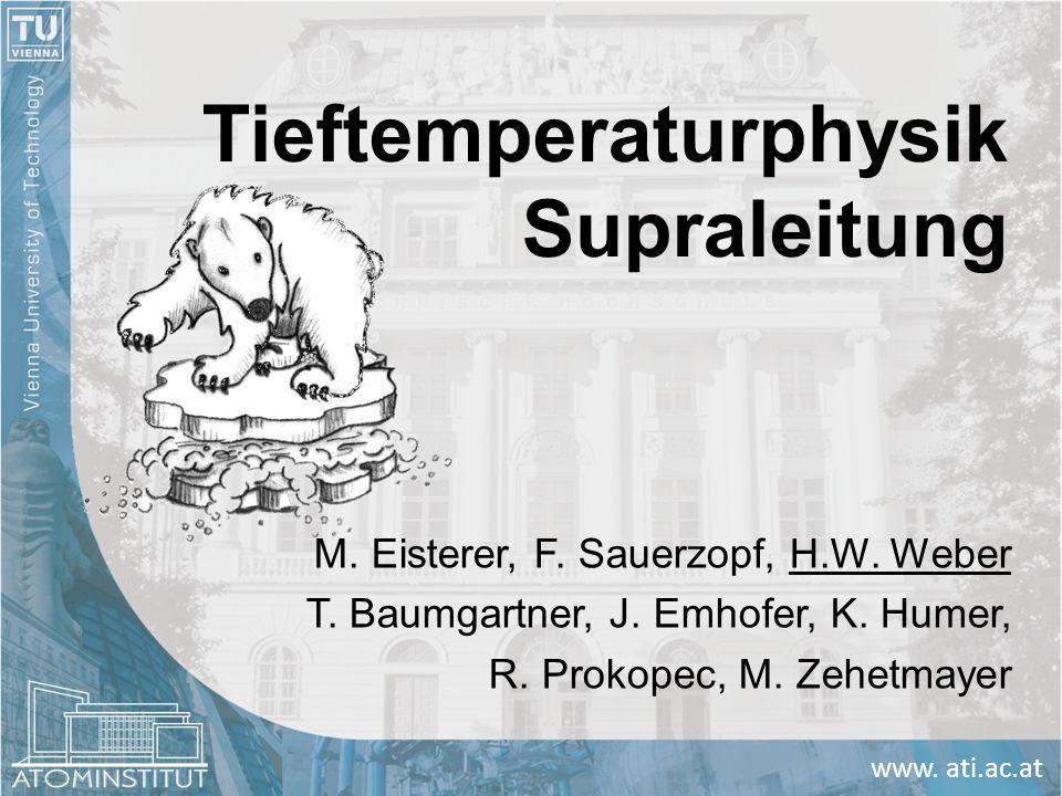 Tieftemperaturphysik Supraleitung