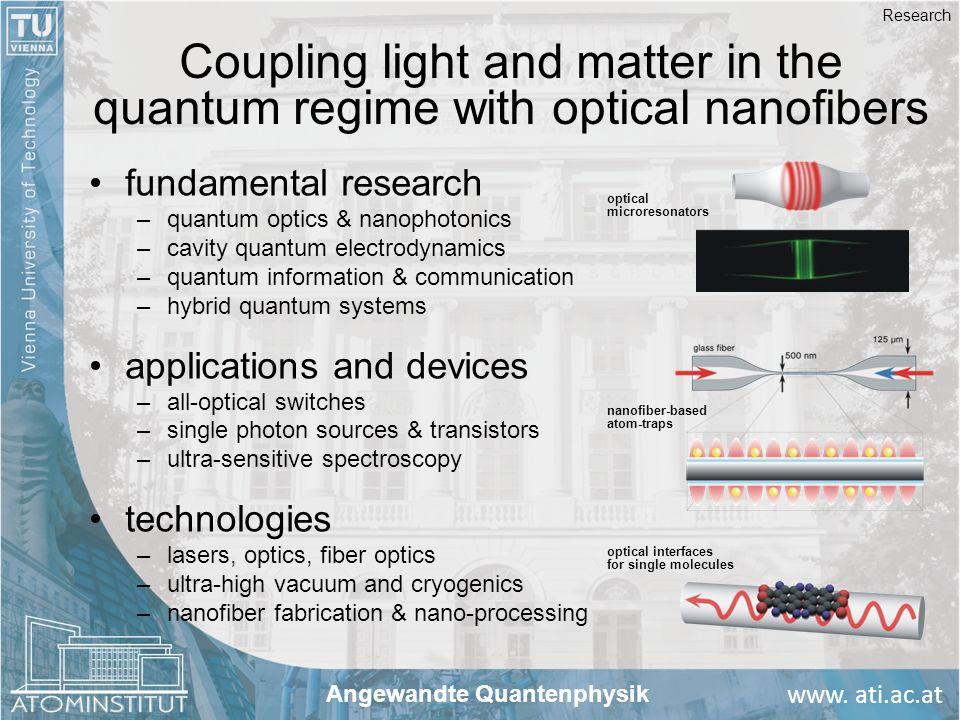 Angewandte Quantenphysik