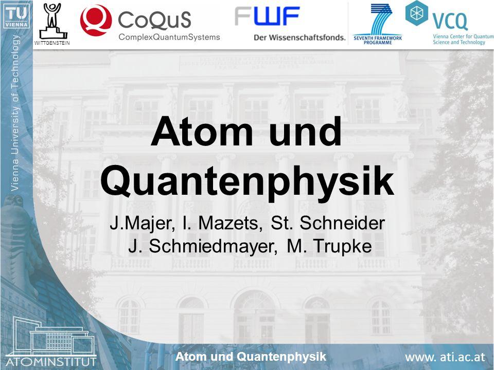 Atom und Quantenphysik