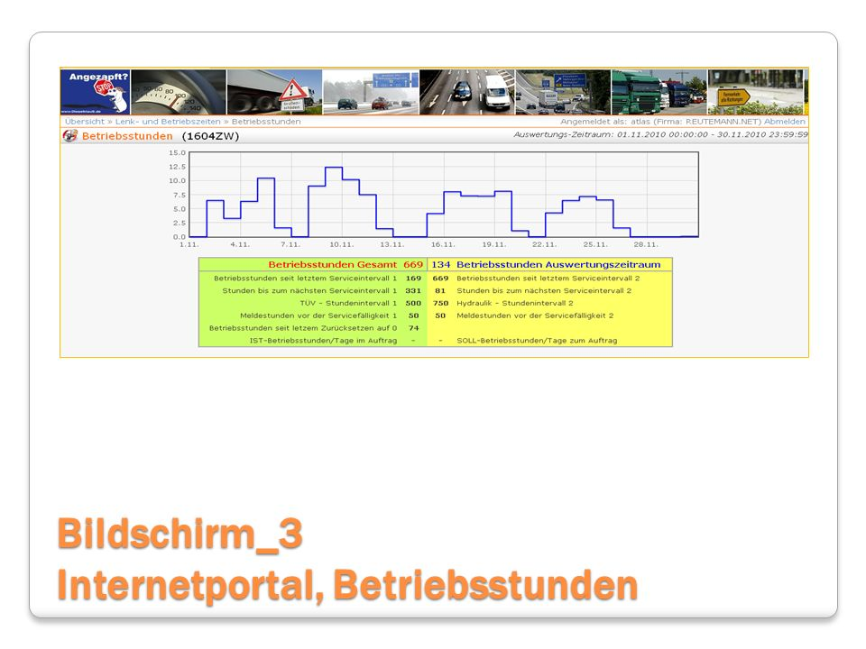 Bildschirm_3 Internetportal, Betriebsstunden