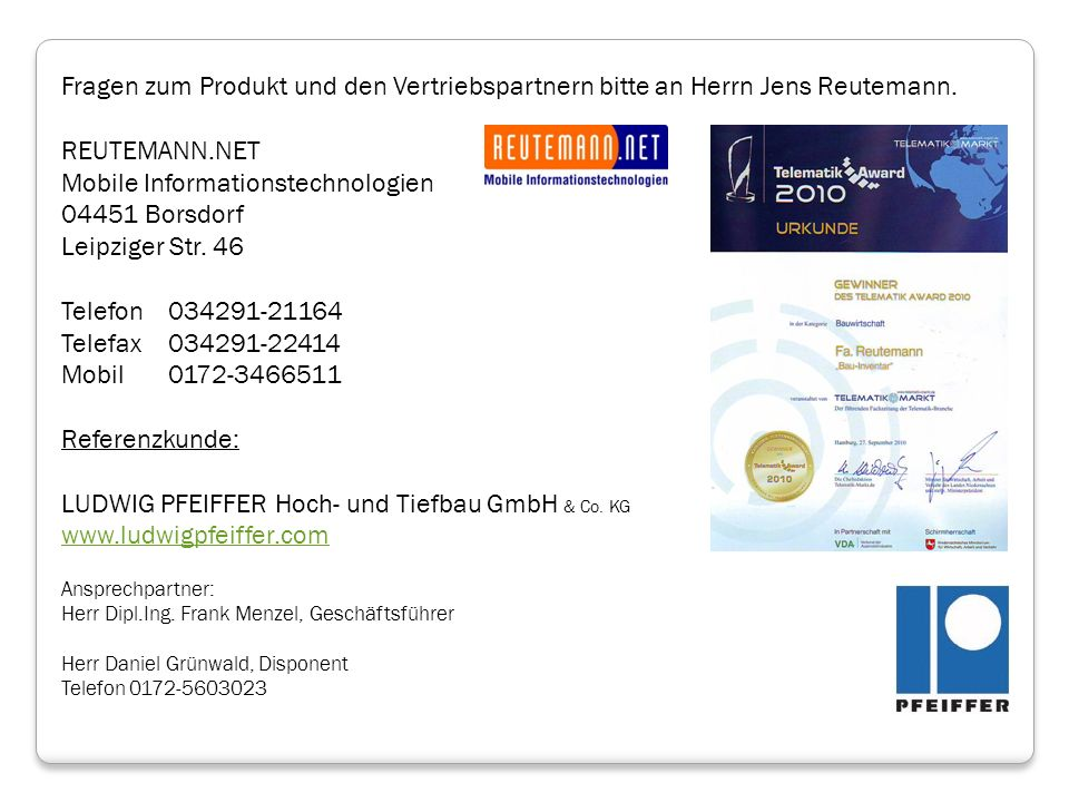 Mobile Informationstechnologien 04451 Borsdorf Leipziger Str. 46