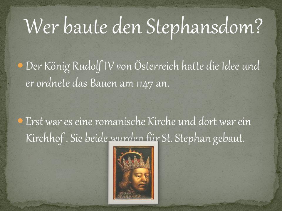 Wer baute den Stephansdom