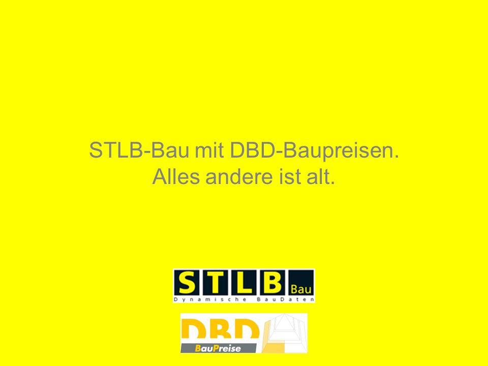 STLB-Bau mit DBD-Baupreisen.