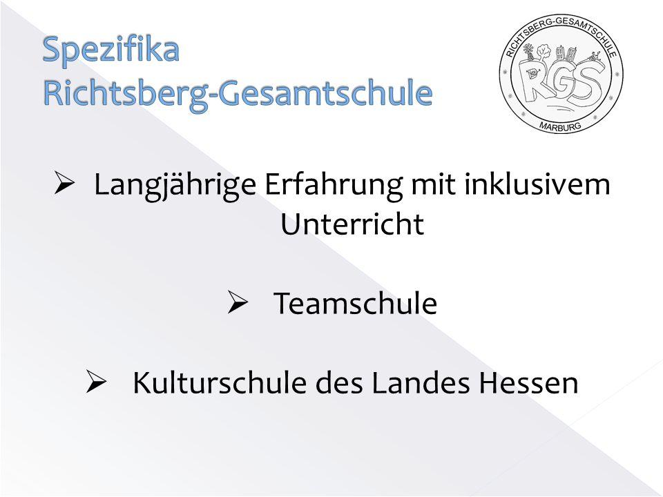 Spezifika Richtsberg-Gesamtschule