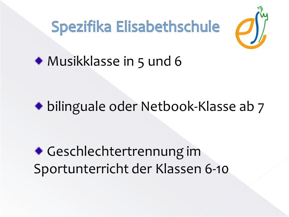 Spezifika Elisabethschule