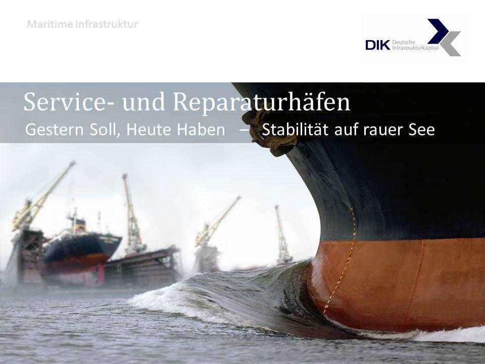 Service- und Reparaturhäfen