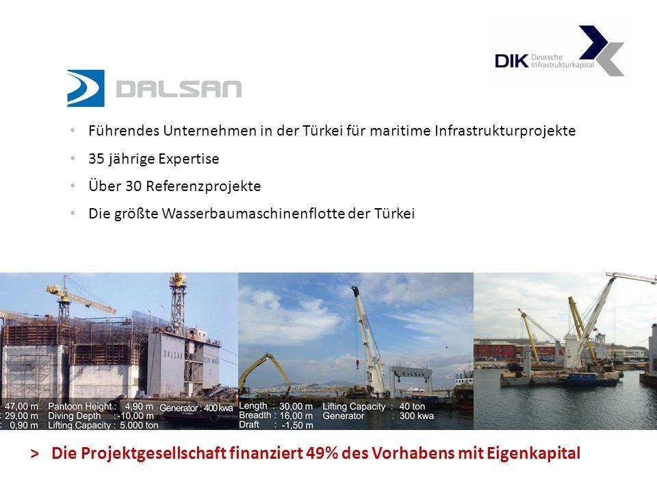 Führendes Unternehmen in der Türkei für maritime Infrastrukturprojekte