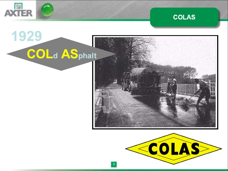 COLAS 1929 COLd ASphalt 8