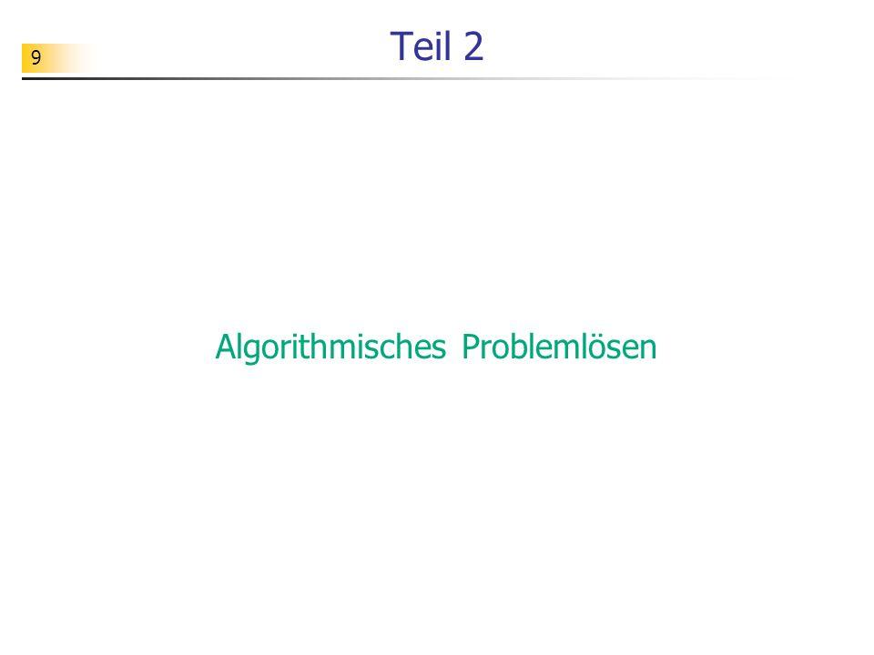 Algorithmisches Problemlösen