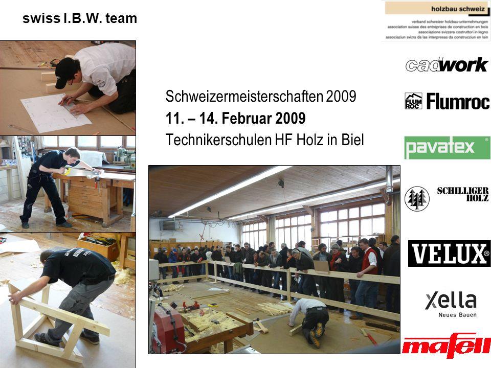 Schweizermeisterschaften 2009 11. – 14. Februar 2009