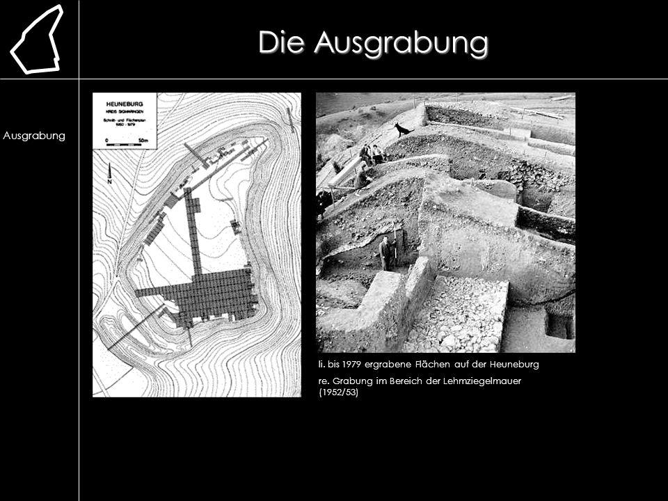 Die Ausgrabung Lage. Erforschung. Ausgrabung. Chronologie. frühere Bauweise. Lehmmauer. Herstellung.