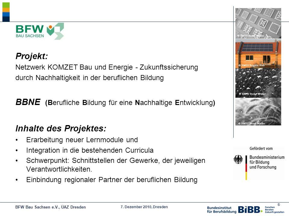 BBNE (Berufliche Bildung für eine Nachhaltige Entwicklung)