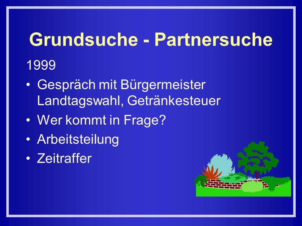 Grundsuche - Partnersuche