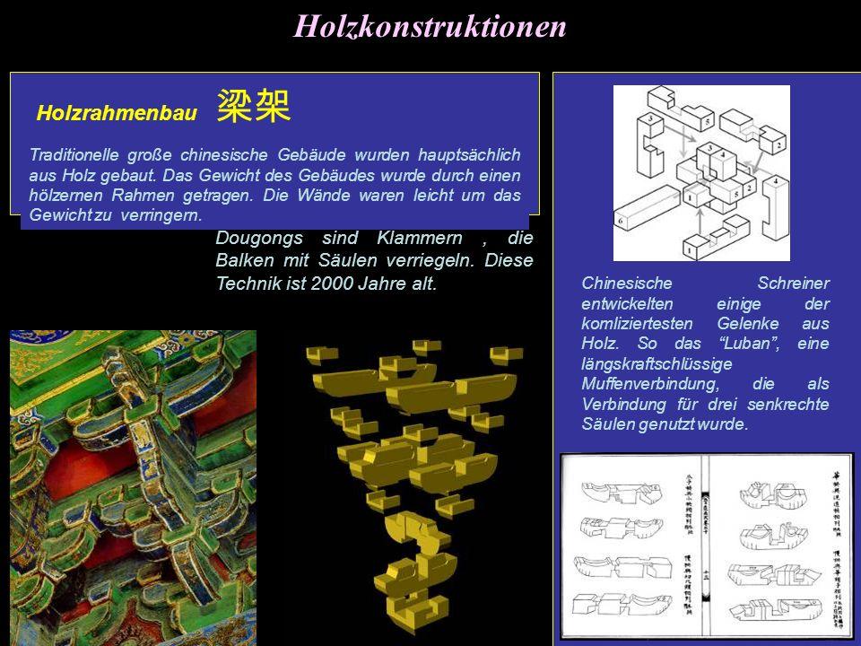 Holzkonstruktionen Holzrahmenbau 梁架