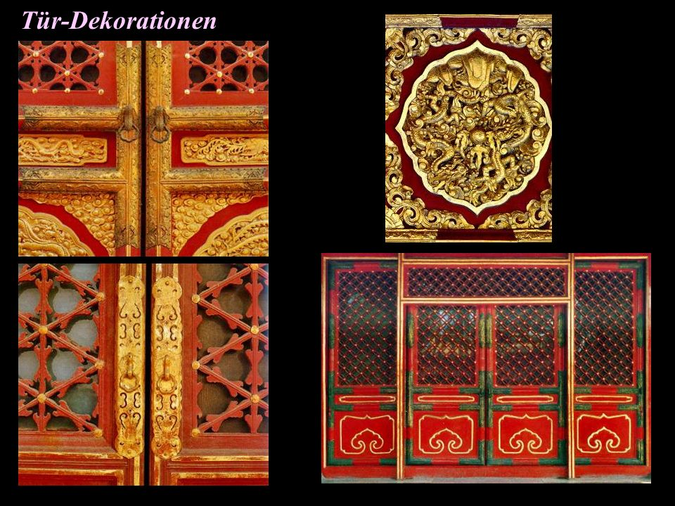 Tür-Dekorationen