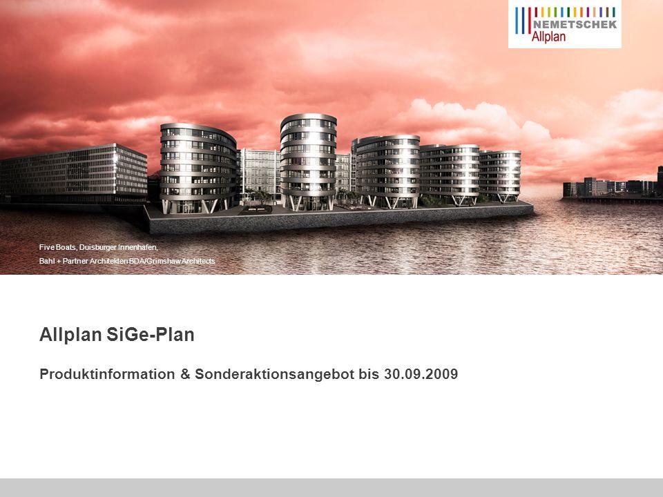 Produktinformation & Sonderaktionsangebot bis 30.09.2009