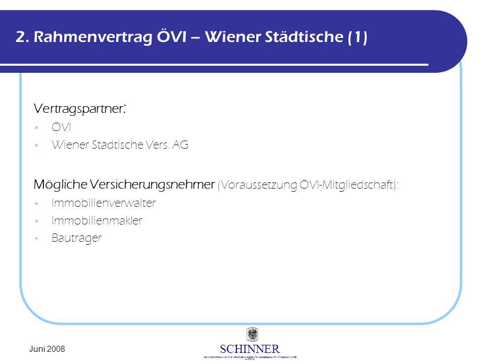 2. Rahmenvertrag ÖVI – Wiener Städtische (1)