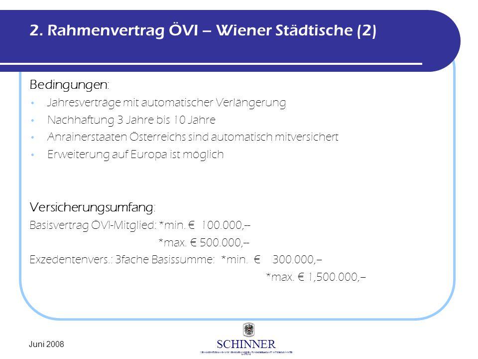 2. Rahmenvertrag ÖVI – Wiener Städtische (2)