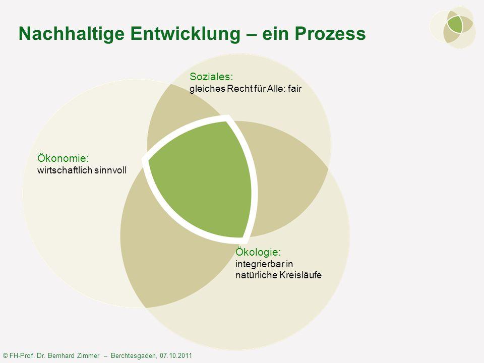 Nachhaltige Entwicklung – ein Prozess