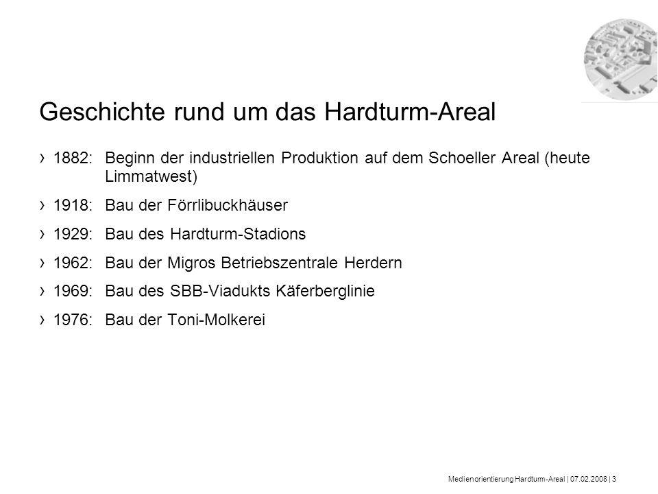 Geschichte rund um das Hardturm-Areal