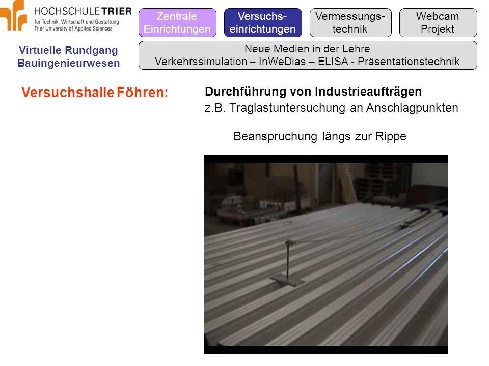 Versuchshalle Föhren: