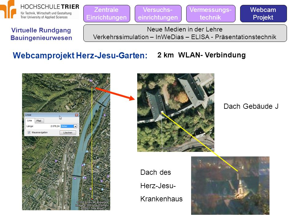 Webcamprojekt Herz-Jesu-Garten: