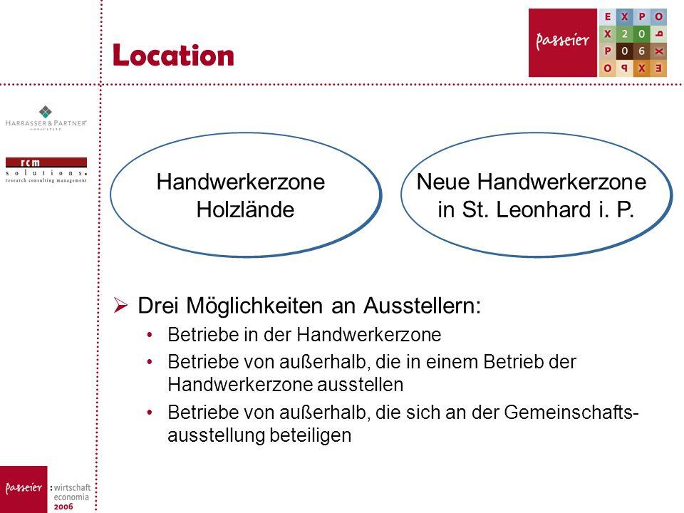 Location Handwerkerzone Holzlände Neue Handwerkerzone