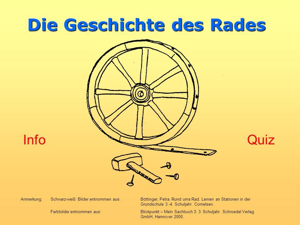 Die Geschichte des Rades