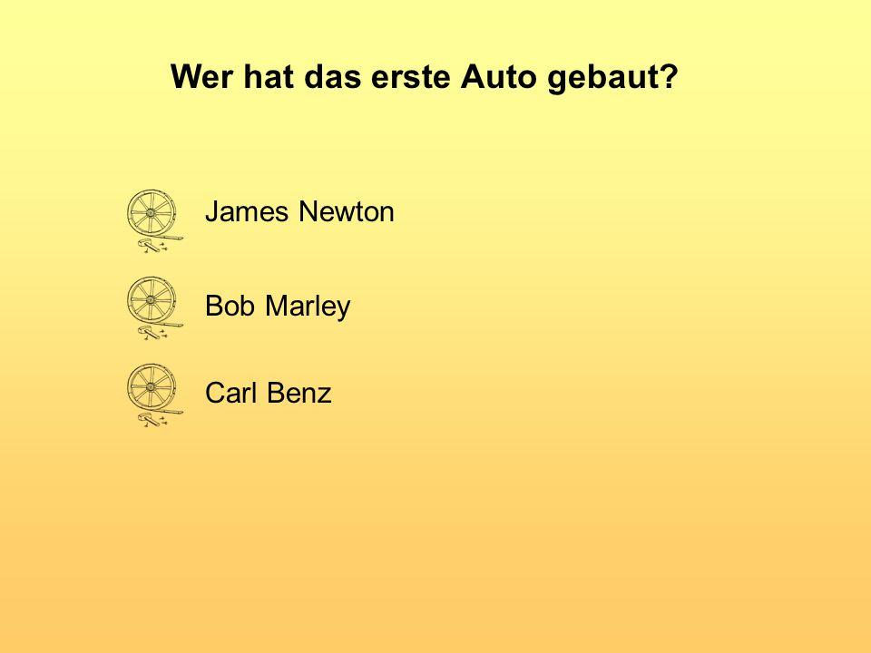 Wer hat das erste Auto gebaut