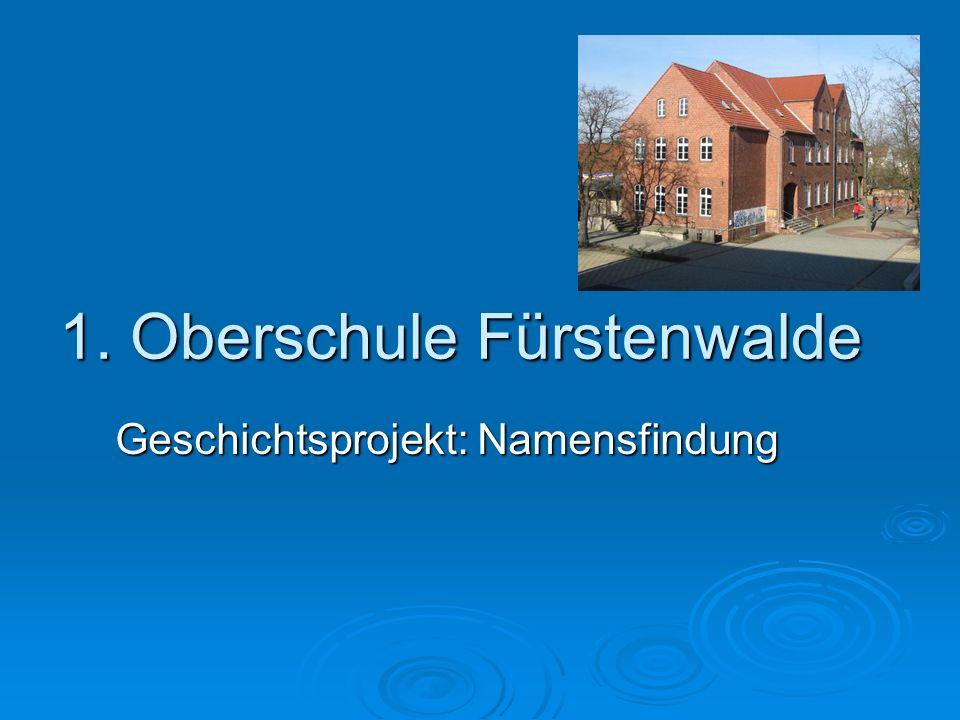 1. Oberschule Fürstenwalde