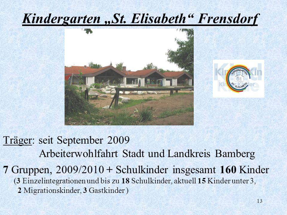 """Kindergarten """"St. Elisabeth Frensdorf"""