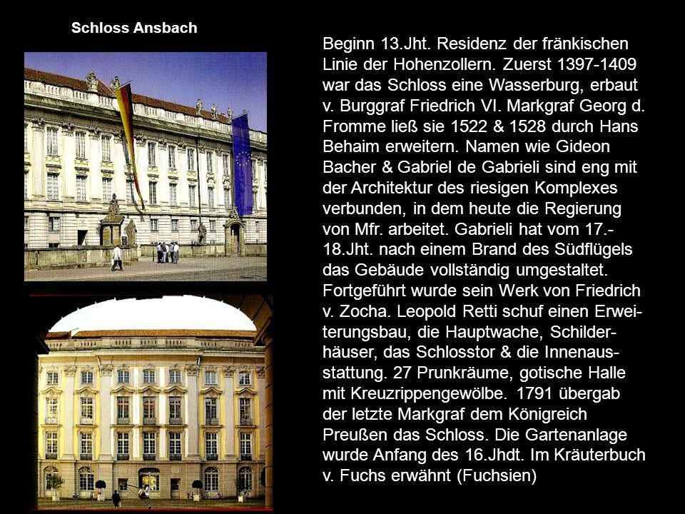 Schloss Ansbach