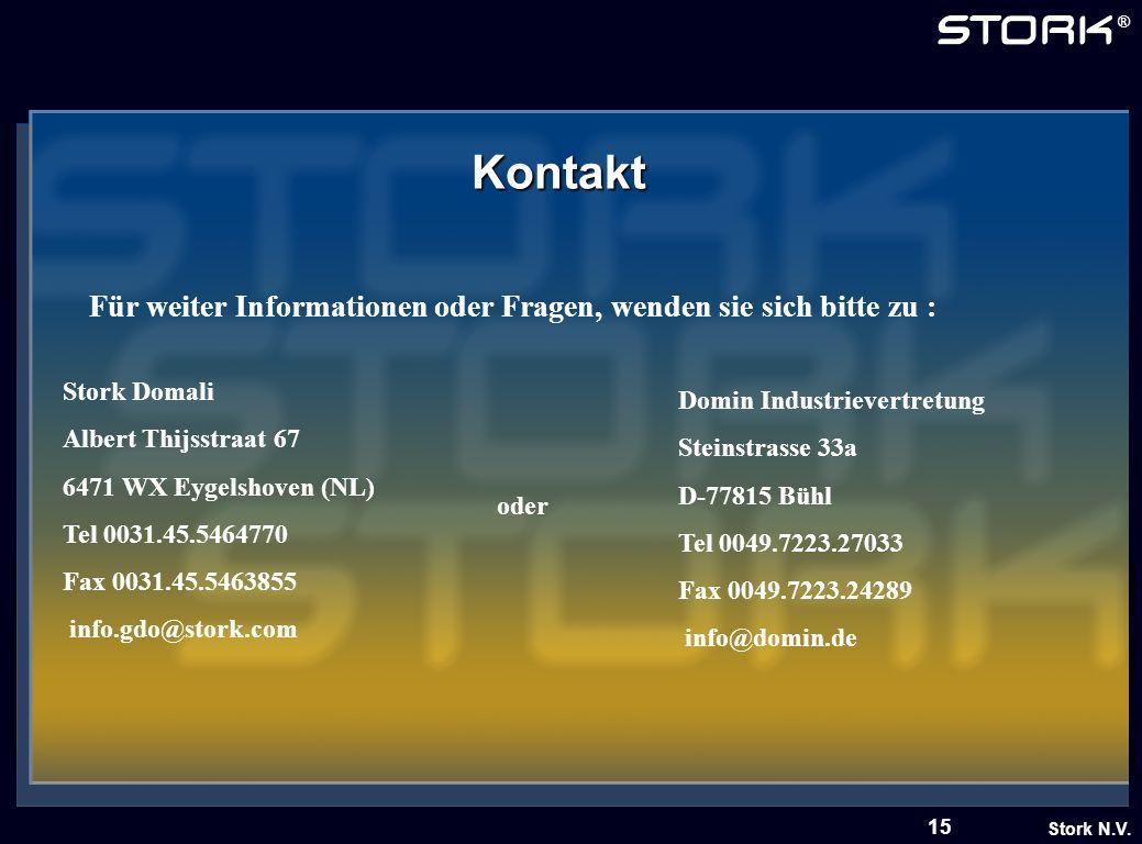 Kontakt Für weiter Informationen oder Fragen, wenden sie sich bitte zu : Stork Domali. Albert Thijsstraat 67.